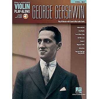 George Gershwin: Violin Play-längs volym 63