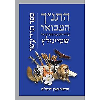 Hatanakh Hamevoar with Commentary by Adin Steinsaltz: Trei Asar (Hebrew Edition)