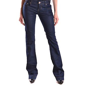 Pinko Blue Cotton Jeans