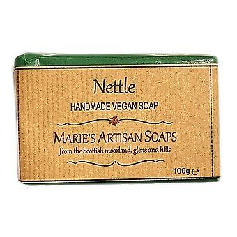 Marie's Artisan Soaps Handmade Vegan Soap 100g - Nettle