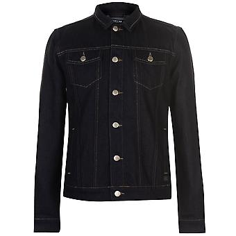 Firetrap Mens Blackseal Denim Jacket