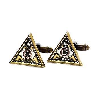 Fantastische Tiere und wo man sie Triangle Eye Cufflinks finden kann