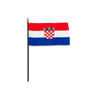 Croatia Hand Held Flag