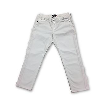 Jaggy cotton Jeans in white