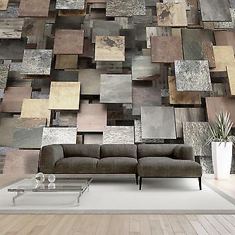 Wallpaper - Square Structure