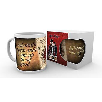 Harry Potter Marauders karta Boxed dricka mugg