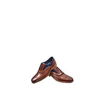 Barker McClean cielę Snuff zamszowe buty