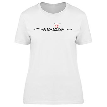 Austria Calligraphy With Crown Tee Women's -Image by Shutterstock