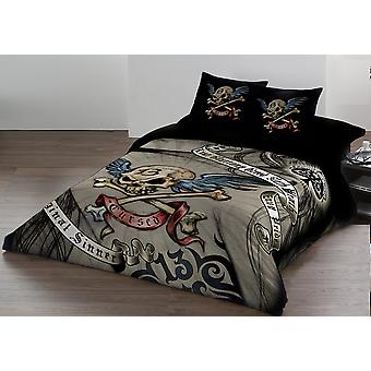 Alchemy - cursed - duvet and pillows covers set / uk super / us king