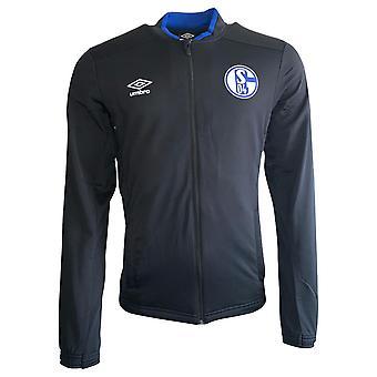 2019-2020 Schalke Umbro Knit Jacket (Black)