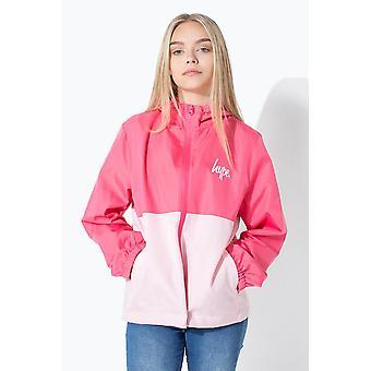 Hype Pink script crianças correndo jaqueta