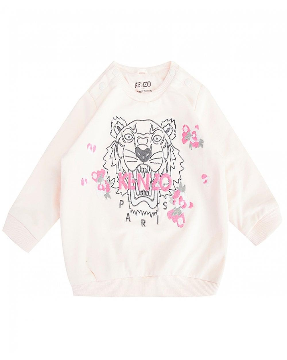 Kenzo Kids Iconic Tiger Flower Sweat