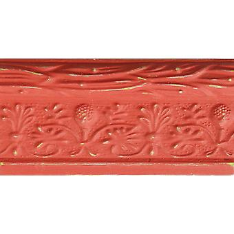 FolkArt Home Decor Chalk Finish Paint 8oz-Salmon Coral
