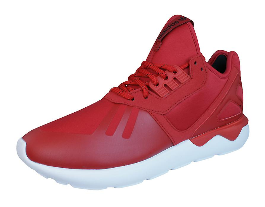 adidas Original Tubular Runner - Mens Trainers / Shoes - Runner Red eb8527