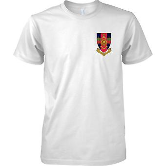 Hasler Company Badge - Royal Marines T-Shirt Colour