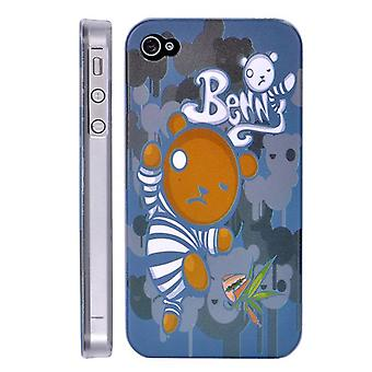 Cover Benny bear dancing in hard plastic, for iPhone 4/4s