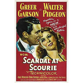 Skandale på Scourie film plakatutskrift (27 x 40)