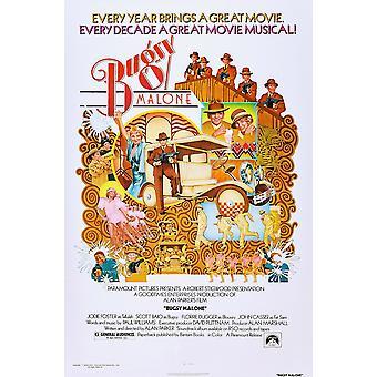 Bugsy Malone Jodie Foster Scott Baio auf Plakat Kunst 1976 Film Poster Masterprint