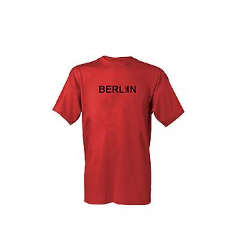 T-Shirt Berlin bokstäver 1 S-4XL
