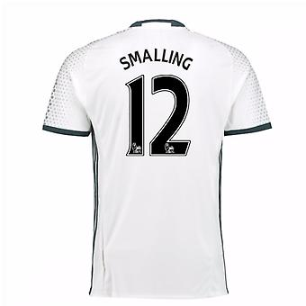 2016-17 man Utd derde Shirt (Smalling 12) - Kids