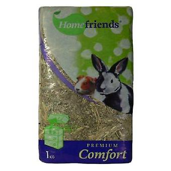 Cominter Pressed hay 1kg Homefriends (Small pets , Hay)