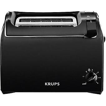 Toaster with built-in home baking attachment Krups ProAroma Black