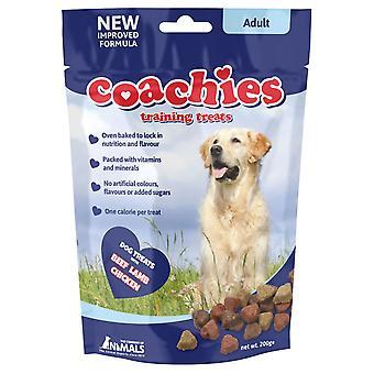 Coachies voksen behandler 200g (Pack af 8)