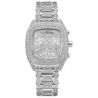 Joe Rodeo diamond ladies watch - CHELSEA silver 13 ctw