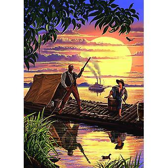 Huck Finn Poster Print by Steve Crisp