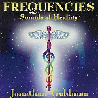 Jonathan Goldman - frekvenser lyden af Healin [CD] USA import