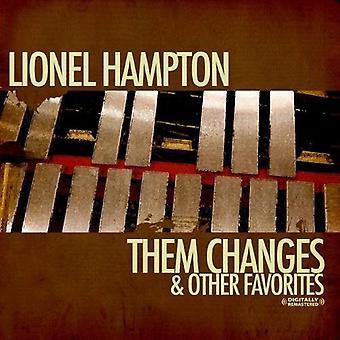 Lionel Hampton - Them Changes & Other Favorites [CD] USA import