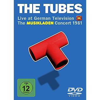 Rør - rør-Live på tysk tv: The M [DVD] USA import