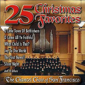 Chancel Choir of Sf - 25 Christmas Favorites [CD] USA import