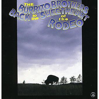 Burrito Brothers - tilbage til kæreste af Rodeo [CD] USA importen