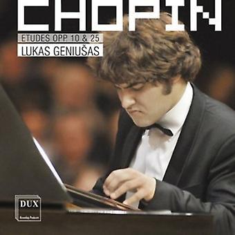F. Chopin - Chopin: Etudes Op. 10 & 25 [CD] USA import