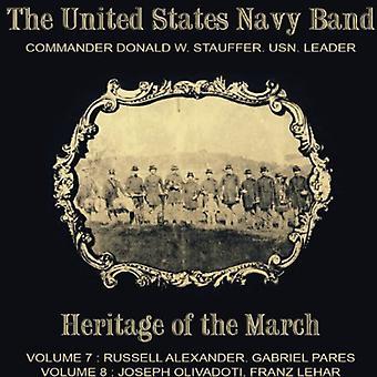 Alexander / Pares / Lehar / Olivadoti - USA 's flåde Band-arv af marts [CD] USA import