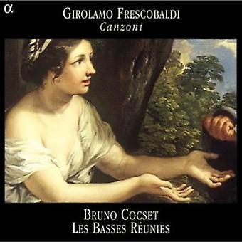 G. Frescobaldi - Girolamo Frescobaldi: Canzoni [CD] USA import
