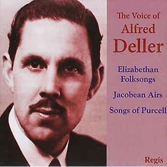 Alfred Deller - Voice of Alfred Deller [CD] USA import