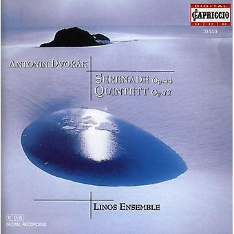 A. Dvorak - Antonin Dvor K: Serenata, Op. 44; Quinteto, importación USA Op. 77 [CD]