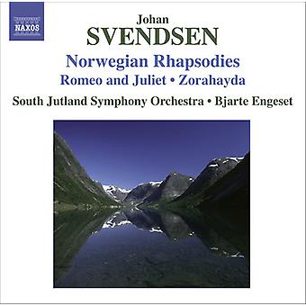 J. Svendsen - Johan Svendsen: Norwegian Rhapsodies [CD] USA import