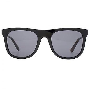 Salvatore Ferragamo Wayfarer Style Sunglasses In Black