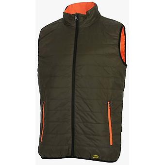 Utility Diadora REVERSIBLE VEST HV STREET GREEN (DIY , Tools , Security , Clothing)