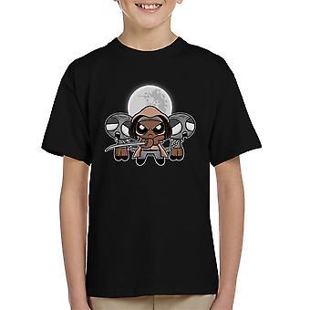 Shuffle And Slice Michonne Walking Dead Kid's T-Shirt
