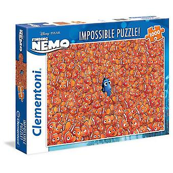 Clementoni 1000 Impossible Puzzle Pieces Finding Nemo (Toys , Boardgames , Puzzles)