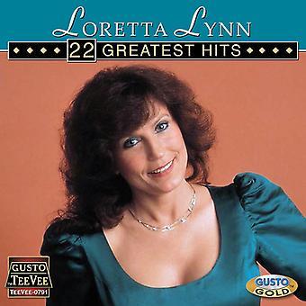Loretta Lynn - 22 Greatest Hits CD] USA import