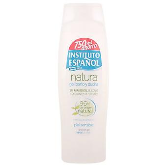 Instituto Español Bath Gel Natura pelle sensibile 750 Ml.