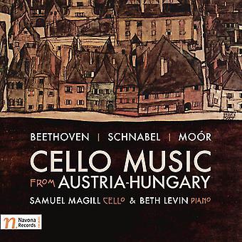 Beethoven / Magill / importación de Levin - música de violoncelo de los E.e.u.u. de Austria-Hungría [CD]