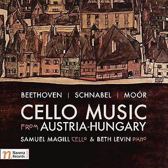 Beethoven / Magill / Levin - Cello musik fra Austria-Hungary [CD] USA import