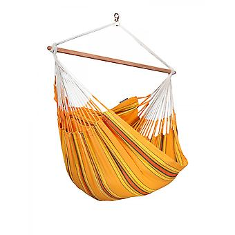 La Siesta Hanging Lounger chair Currambera Apricot CUL21-5