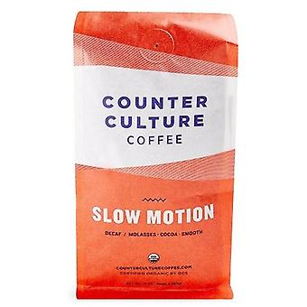 Counter Culture Coffee Slow Motion Decaf Blend Molasses Cocoa Whole Bean Coffee